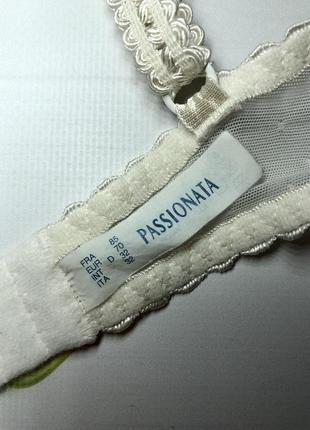 Воздушный мягкий полупрозрачный кружевной бюстгальтер passionata 70d6 фото