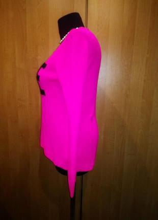 Джемпер 48 ярко-розовый2 фото