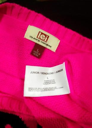 Джемпер 48 ярко-розовый4 фото