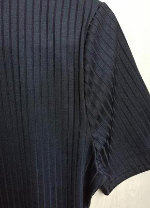Платье в рубчик со змейкой - кольцом от atmosphere размер m5