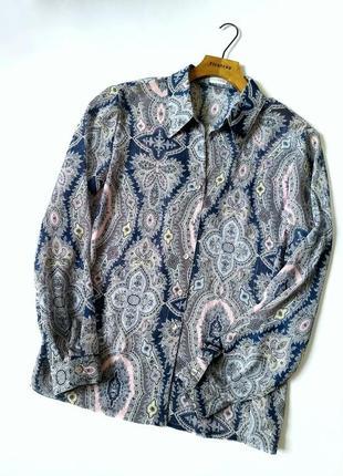 Шикарная блуза/рубашка из воздушного шифона9