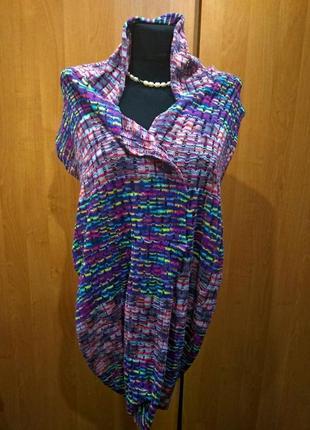 Снуд - шарф разноцветный2