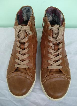 """Ботинки """"jane klain"""" р.38-39 демисезон, женские высокие кроссовки3"""