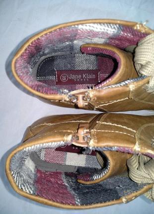 """Ботинки """"jane klain"""" р.38-39 демисезон, женские высокие кроссовки4"""