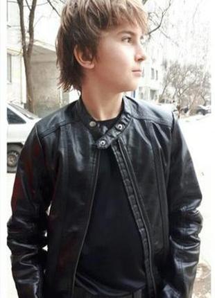 Классная куртка с искусственной кожи #розвантажуюсь