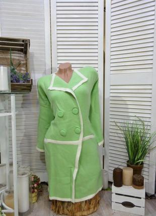 Теплющее вязаное пальто-кардиган- большой размер!