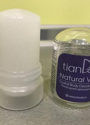 Сухой солевой дезодорант кристалл tiande