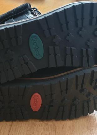 Новые натуральные фирменные утепленные ботинки 36р./23 см5 фото