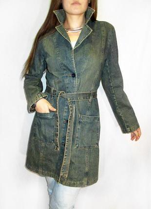 Kiabi tendance!! замечательное джинсовое пальто