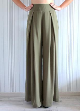Шикарные брюки палаццо1