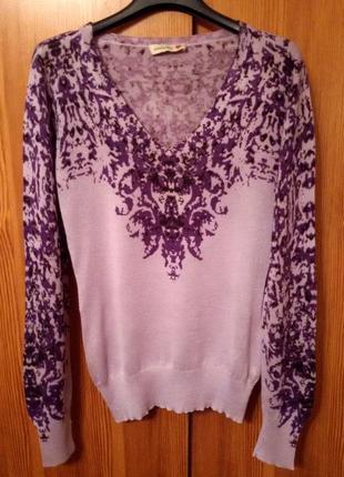 Шикарный,нежный свитер,джемпер alberto bini,шелк,кашемир1