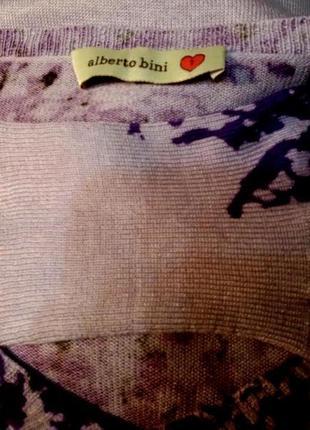 Шикарный,нежный свитер,джемпер alberto bini,шелк,кашемир6