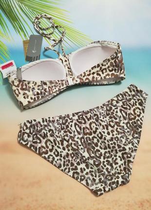 Модный купальник moontide, леопардовый принт4 фото