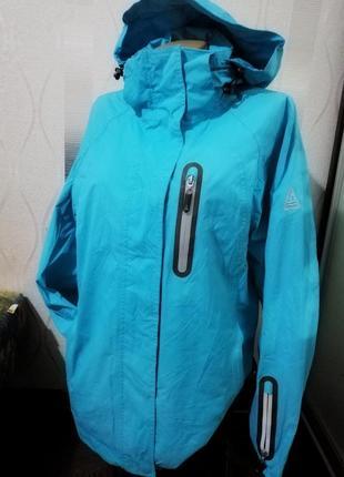 Фирменная женская куртка ветровка human nature