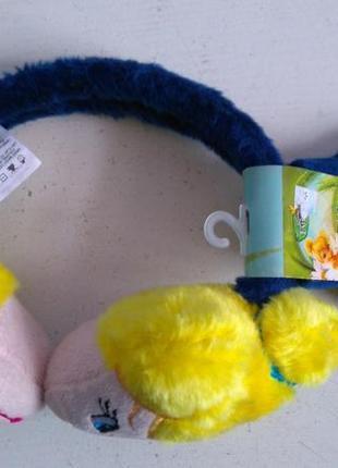 Комплект перчатки наушники tink fairies disney at abg оригинал сша америка