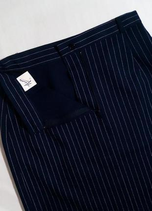 Юбка миди карандаш в полоску британского бренда5