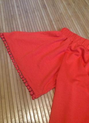 Стильная трикотажная блуза, размер l3