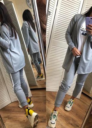 Женский спортивный костюм брюки и пиджак3