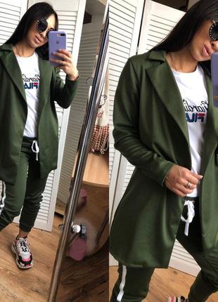 Женский спортивный костюм брюки и пиджак8