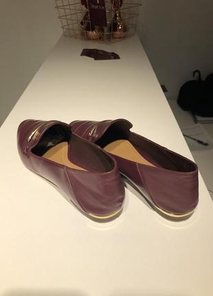 Massimo dutti лоферы женские кожаные2