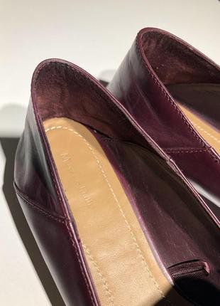 Massimo dutti лоферы женские кожаные3