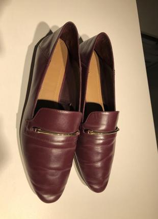 Massimo dutti лоферы женские кожаные4