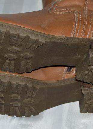Не пропустіть! хіт ціна! сапоги кожа pier one размер 42, чоботи шкіра6