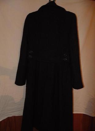 Пальто двубортное шерстяное zara оригинал6 фото