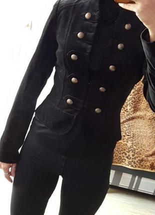 Велюровый, бархатный пиджак , жакет atmosphere
