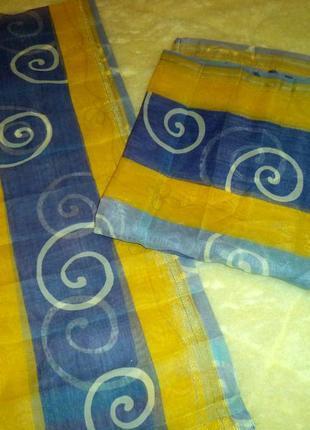 Тюлевые шторки цена 130 грн за комплект3 фото