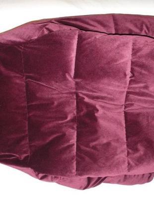 Куртка бархат вилюр зимняя river island оригинал9