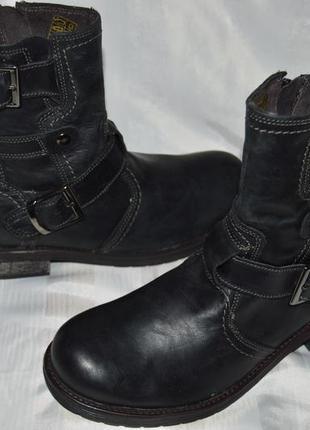 Супер ціна! ботинки кожа bata размер 40 ботіки шкіра1 фото