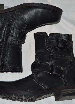Супер ціна! ботинки кожа bata размер 40 ботіки шкіра5 фото