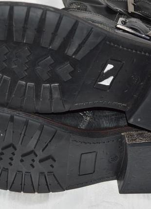Супер ціна! ботинки кожа bata размер 40 ботіки шкіра6 фото