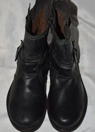 Супер ціна! ботинки кожа bata размер 40 ботіки шкіра7 фото