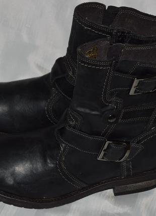 Супер ціна! ботинки кожа bata размер 40 ботіки шкіра8 фото