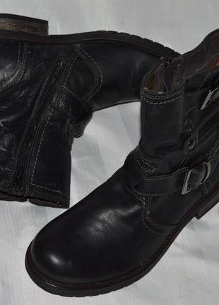 Супер ціна! ботинки кожа bata размер 40 ботіки шкіра9 фото