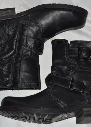 Супер ціна! ботинки кожа bata размер 40 ботіки шкіра10 фото