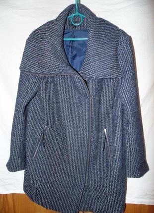 Шерстяное тренч пальто m&s оригинал