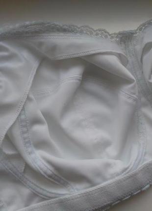 30gg 65gg, 70g/75f кружевной белый бюстгальтер для кормления на мягкой чашке без кости7