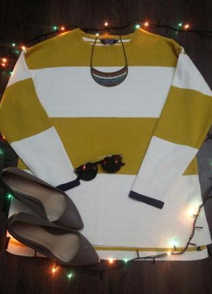 Плотный полосатый свитер joules