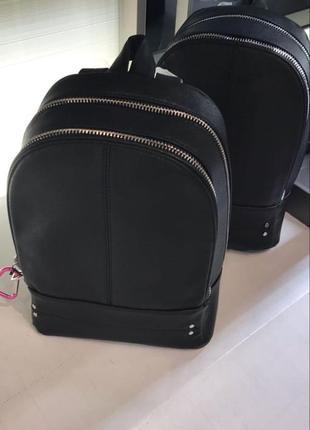 Рюкзак портфель оригинал zara ранец под кожу с сердечком брелком2