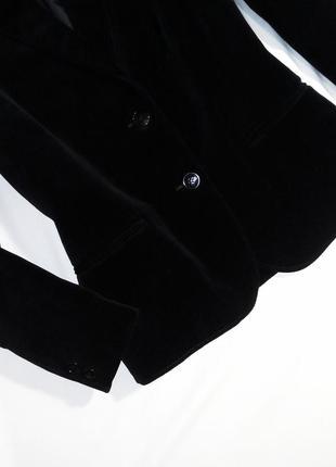 Уникальный редкий бархатный пиджак st.michael. размер 14/42 (l)4