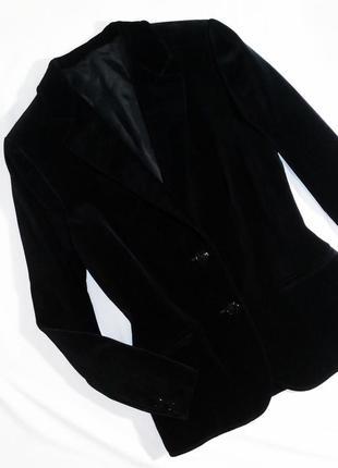 Уникальный редкий бархатный пиджак st.michael. размер 14/42 (l)5