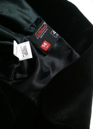 Уникальный редкий бархатный пиджак st.michael. размер 14/42 (l)6