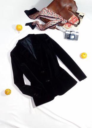 Уникальный редкий бархатный пиджак st.michael. размер 14/42 (l)1
