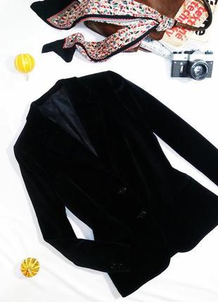 Уникальный редкий бархатный пиджак st.michael. размер 14/42 (l)2