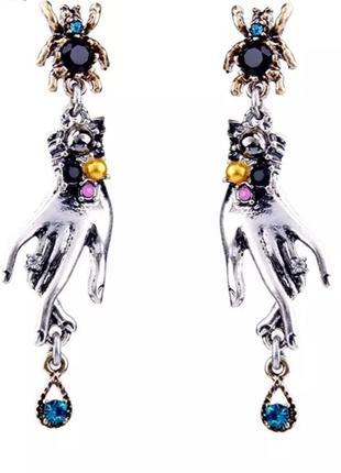 Роскошные серьги в стиле арт-нуво5 фото