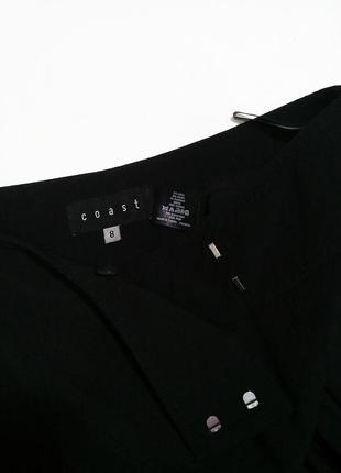 Шерстяные кюлоты с завышенной посадкой (укороченные брюки, юбка брюки, клеш)6