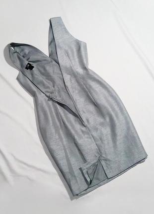Красивое платье в цвете «серебро» h&m. размер 40 (m/l)5